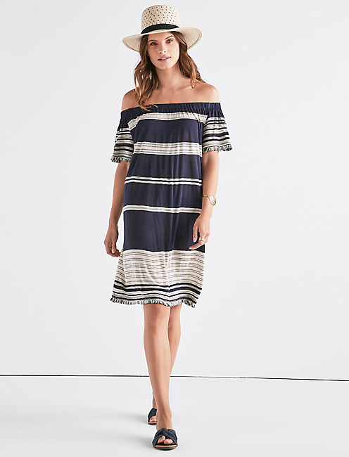 Striped Dress Lucky Brand
