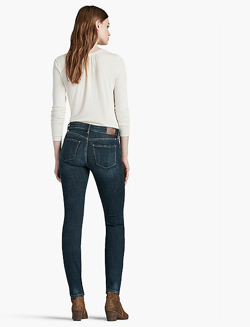 HAYDEN HIGH RISE SCULPTING SKINNY JEAN IN RAMPART, RAMPART