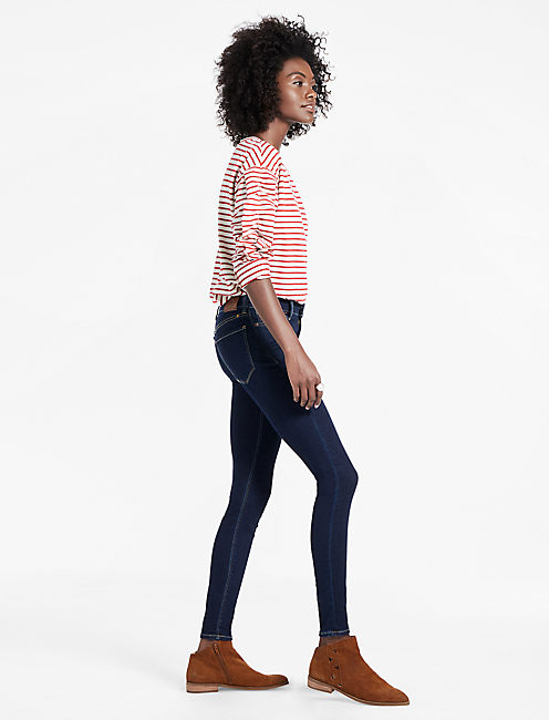 Lucky Brooke Mid Rise Legging Jean In Breaker