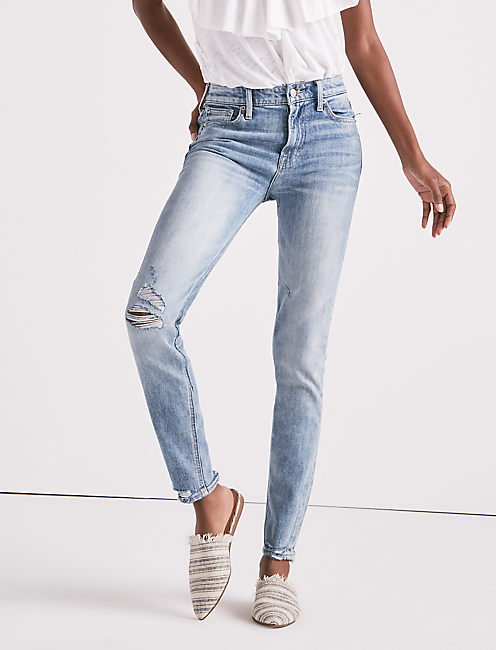 Lucky Bridgette High Rise Skinny Jean With Contrast Pockets