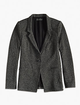 NOVELTY KNIT BLAZER