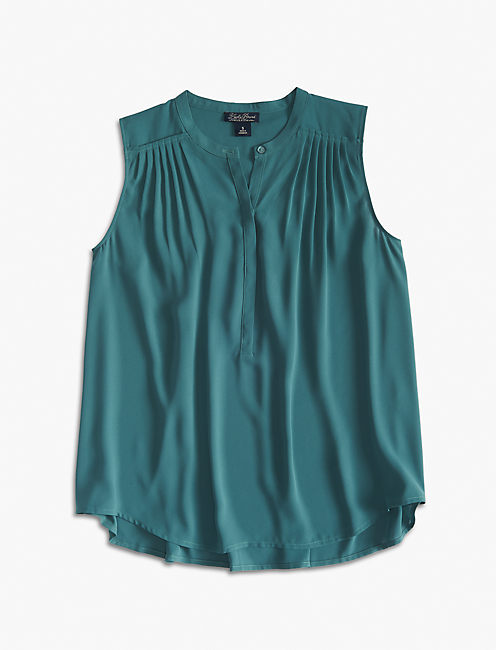 PLEATED TRAPEZE TANK,
