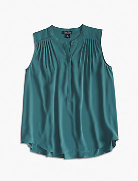 PLEATED TRAPEZE TANK