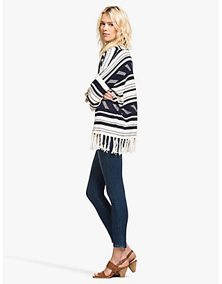 LUCKY STRIPE FRINGED 3RD PIECE