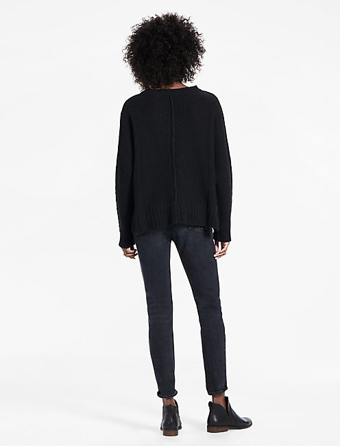 STEELE PULLOVER, 001 LUCKY BLACK