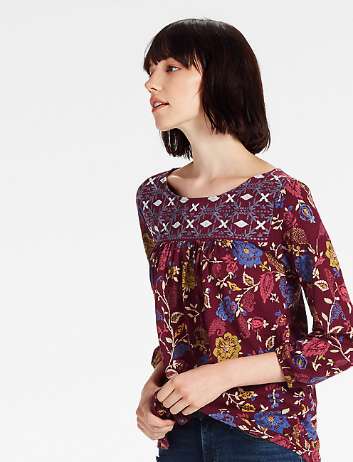 AREN EMBROIDERED TOP,