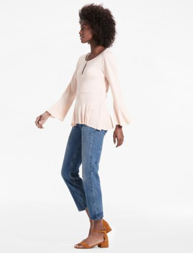 Lucky Bell Sleeve Top