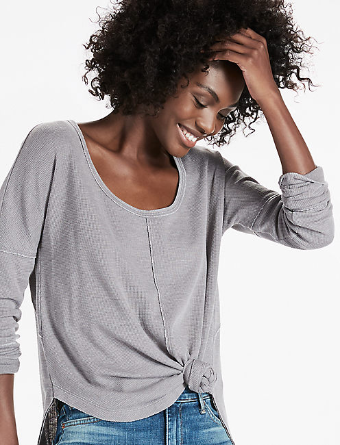 SCOOP NECK THERMAL,