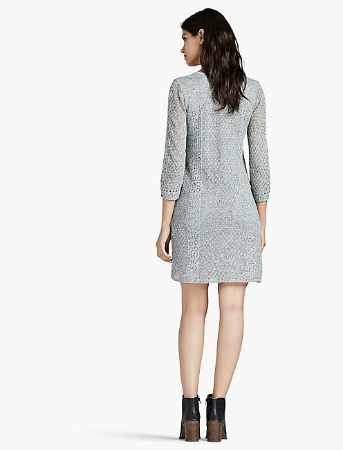 LAYER SWEATER DRESS,