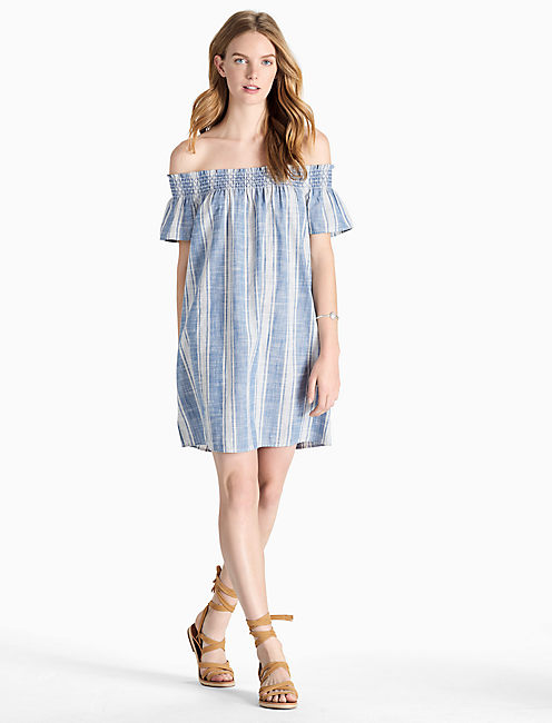 Lucky Tencel Off Shoulder Dress