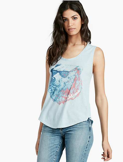 CALIFORNIA BEAR TANK,