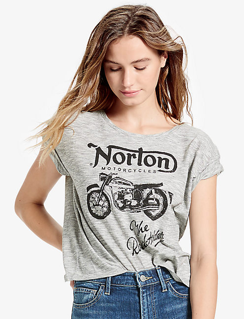 NORTON STRIPED TEE,