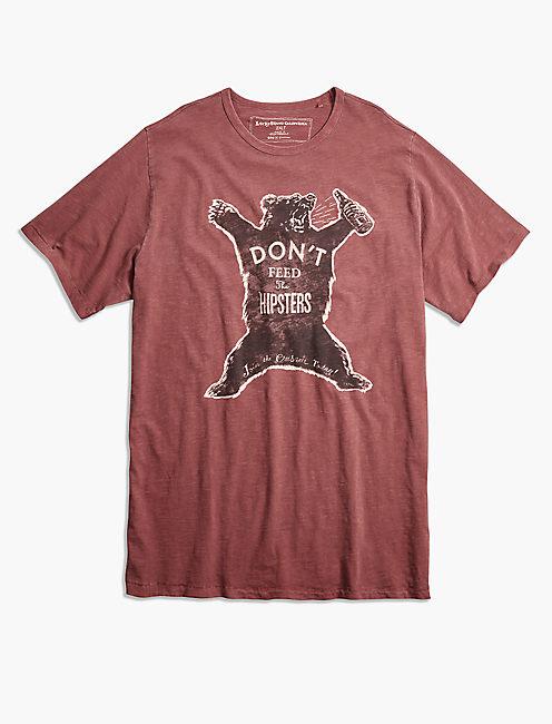 HIPSTER BEAR TEE,