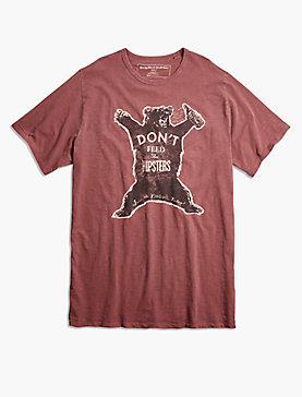 HIPSTER BEAR TEE
