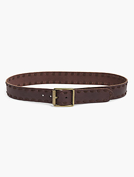 SUEDE LACE BELT