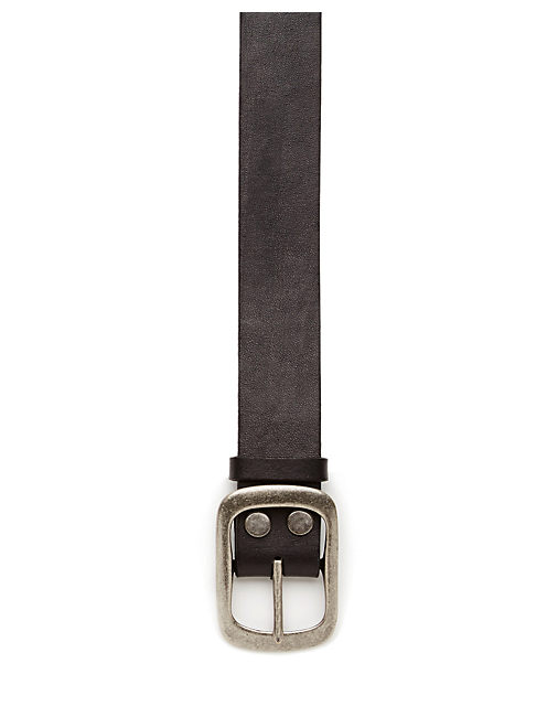 CENTER BAR BELT, BLACK