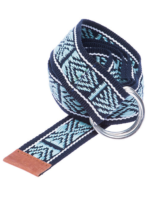 WEBBING BELT, DARK BLUE