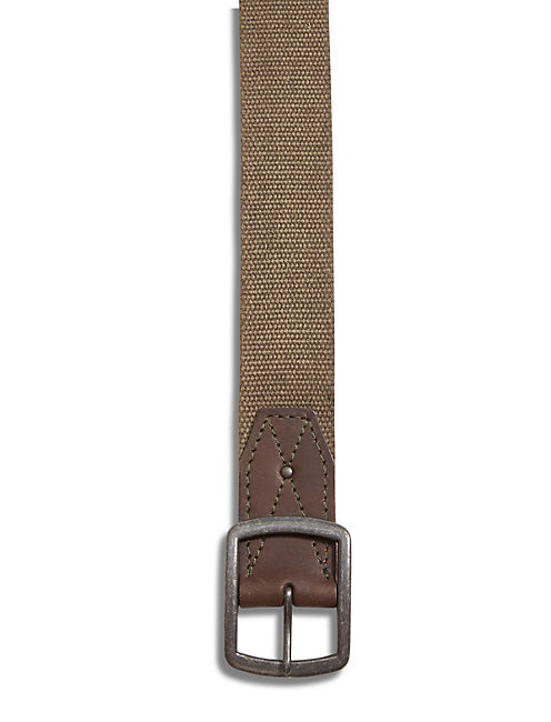 MILITARY WEBBED BELT, MEDIUM DARK GREEN