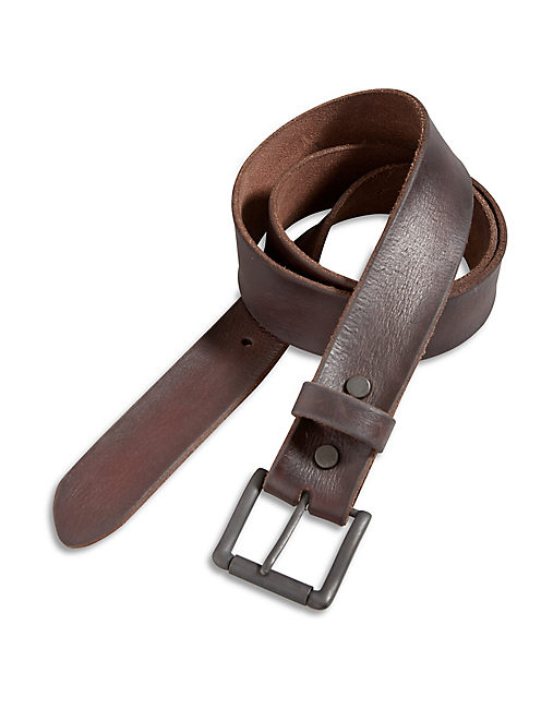 DARK BROWN BELT,