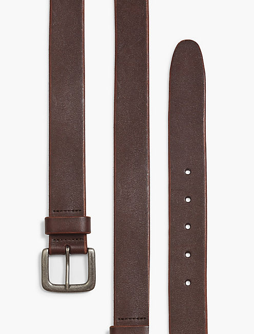 Lucky Santa Fe Leather Belt