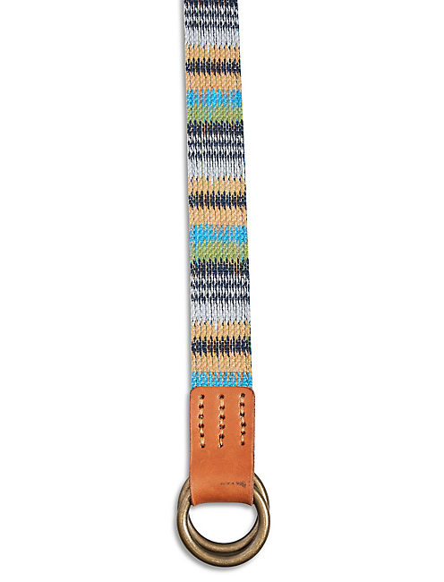 LUCKY REVERSIBLE FABRIC BELT