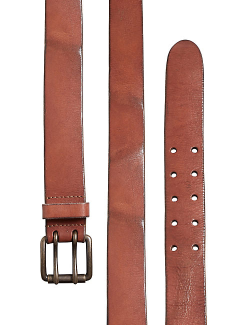 WASHED BASIC BELT,