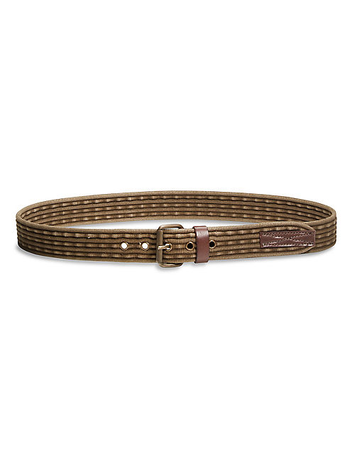 CROCKETT WEBBED BELT, MOSS