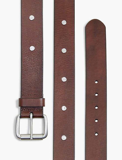 HAMMERED STUD BELT,