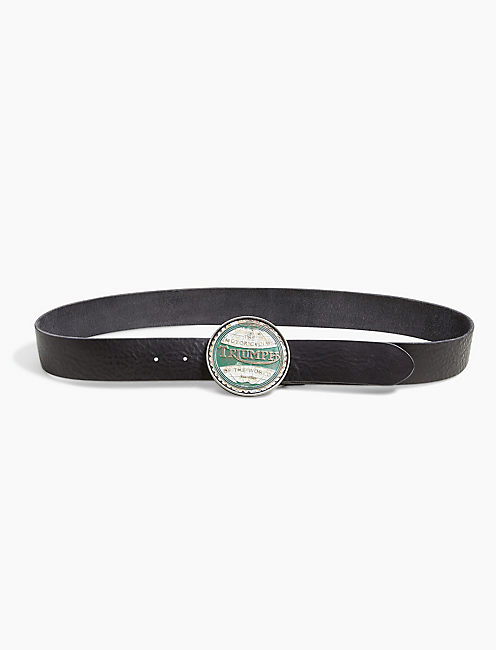 TRIUMPH BUCKLE BELT,