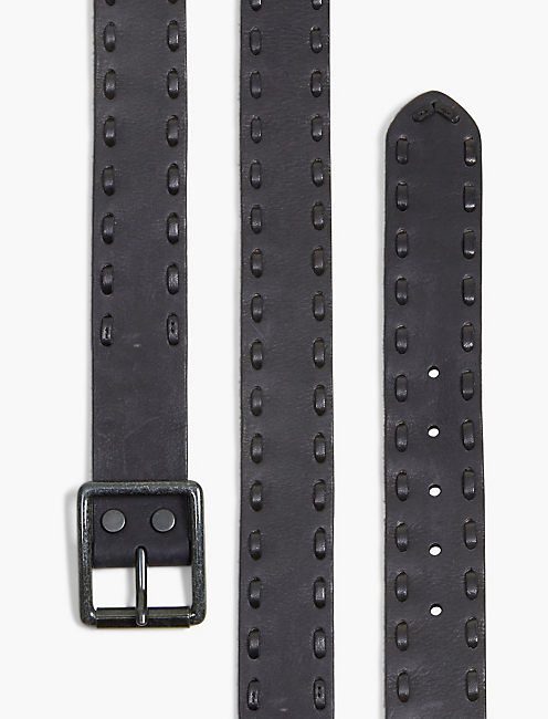 Lucky Moto Leather Belt