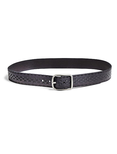 BORDER EMBOSSED BELT,