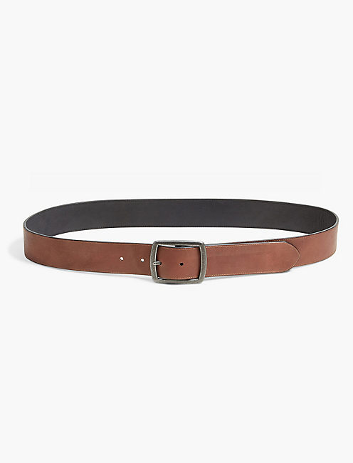 REVERSIBLE LEATHER BELT,