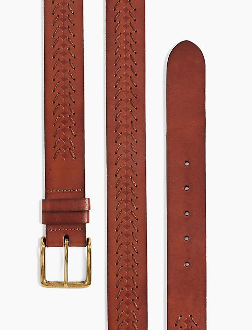 CHEVRON LACING BELT,