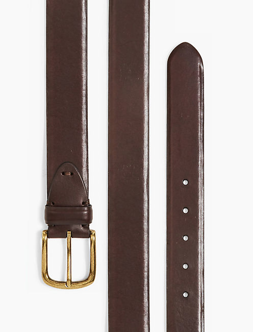 LUCKY LEATHER TAB BELT