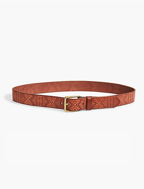 PENDLETON EMBOSSED BELT,