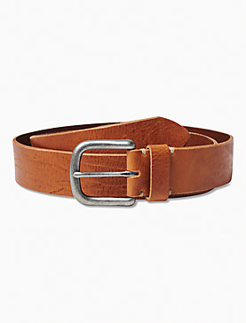 TAN DISTRESSED BELT
