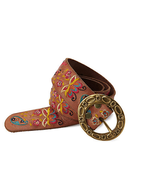 FLORICA EMBROIDERED BELT, MULTI