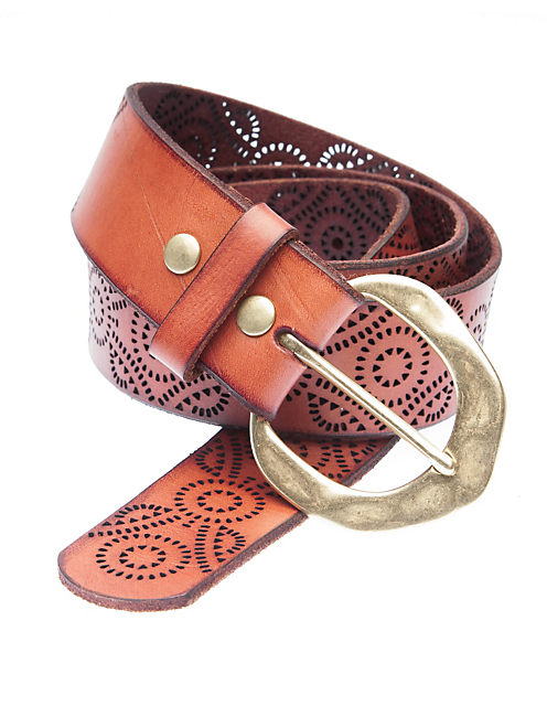 CLEOBELLA MEXICANA BELT, LIGHT BROWN