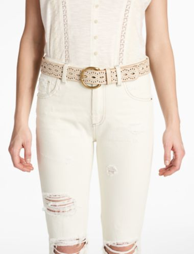 LUCKY BEACHWOOD CUTOUT BELT