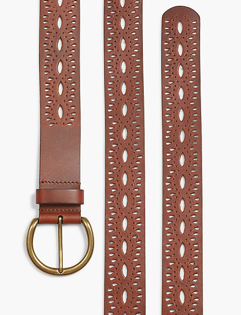 BEACHWOOD CUTOUT BELT,