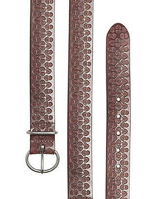 LUCKY AMINA TOOLED BELT