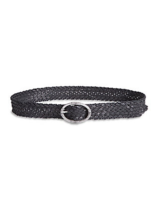LUCKY BRAIDED LEATHER BELT