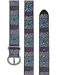 OMBRE EMBROIDERED BELT,