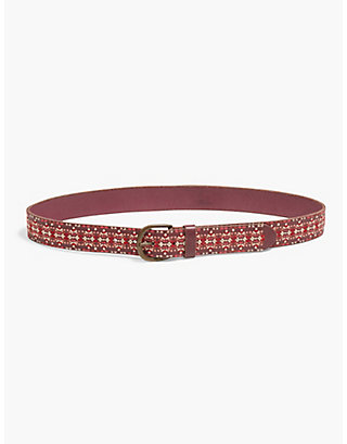 LUCKY EMBROIDERED BELT