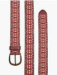 EMBROIDERED BELT,