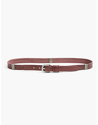 LUCKY MULTI STRAP LEATHER BELT