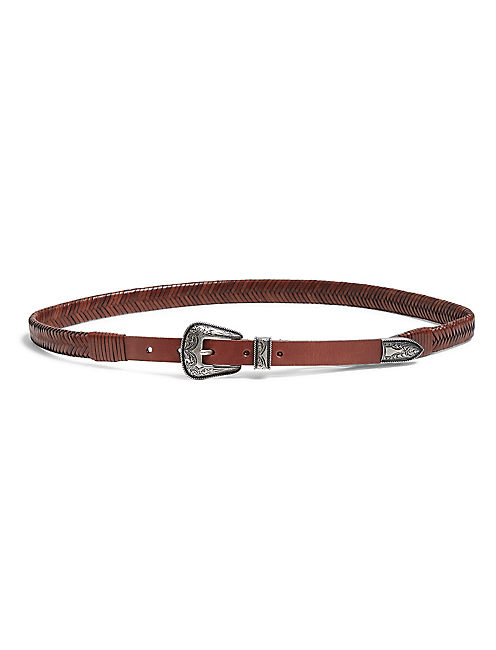 BRAIDED WESTERN BELT,