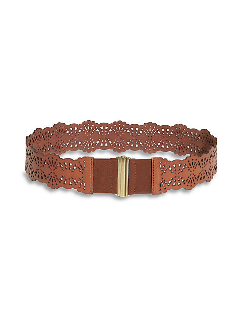 PERFORATED WAIST BELT,