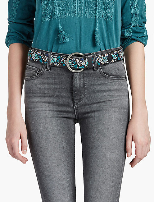Lucky Floral Mix Belt