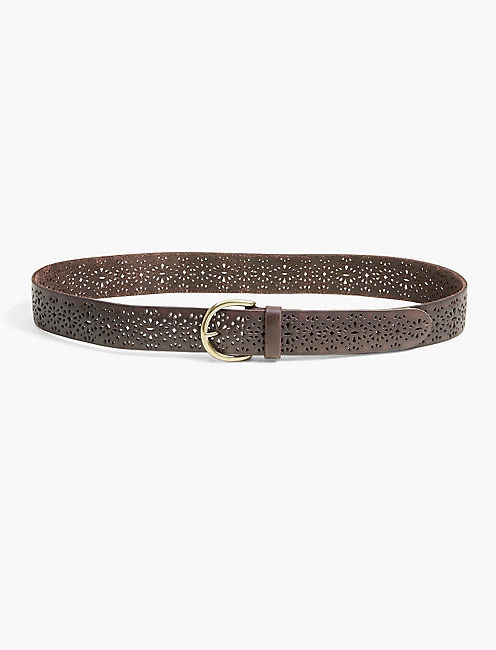 LOMITA PERFORATED BELT,